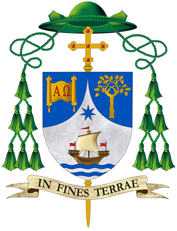 Stemma Finis Terrae Mons. Gerardo Antonazzo