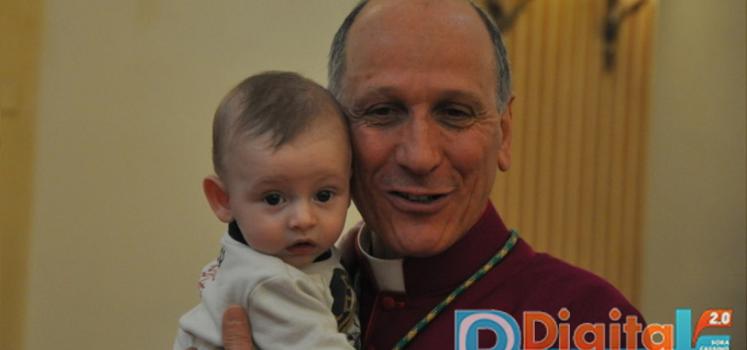 Natale con i poveri ed il vescovo a Cassino