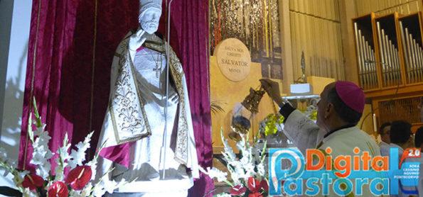 2017 10 31 - Diocesi Sora Cassino Aquino Pontcorvo - Articolo - La Chiesa Madre festeggia San Germano - Vescovo Gerardo Antonazzo