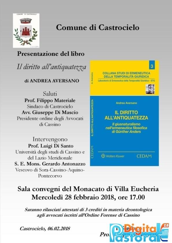 Presentazione Comune di Castrocielo 'Il diritto all'antiquatezza'