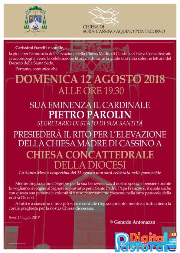 Locandina Cattedrale Cassino