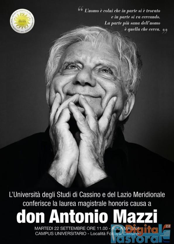 Don Mazzi Laurea ad honorem