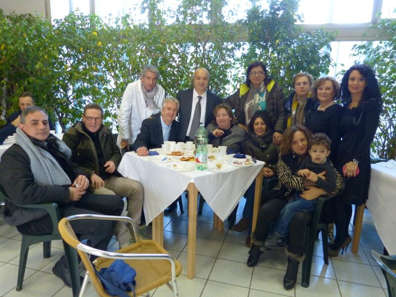 Rinfresco In Ufficio Per Pensionamento : Il giudice di pace di lugo cersosimo va in pensione