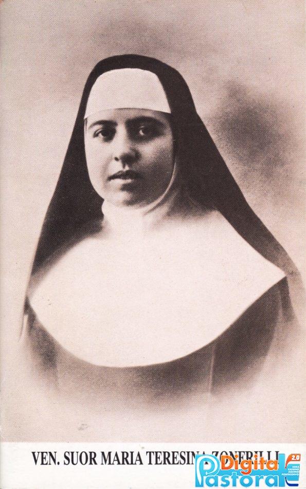 La Venerabile suor Maria Teresina Zonfrilli da Pontecorvo