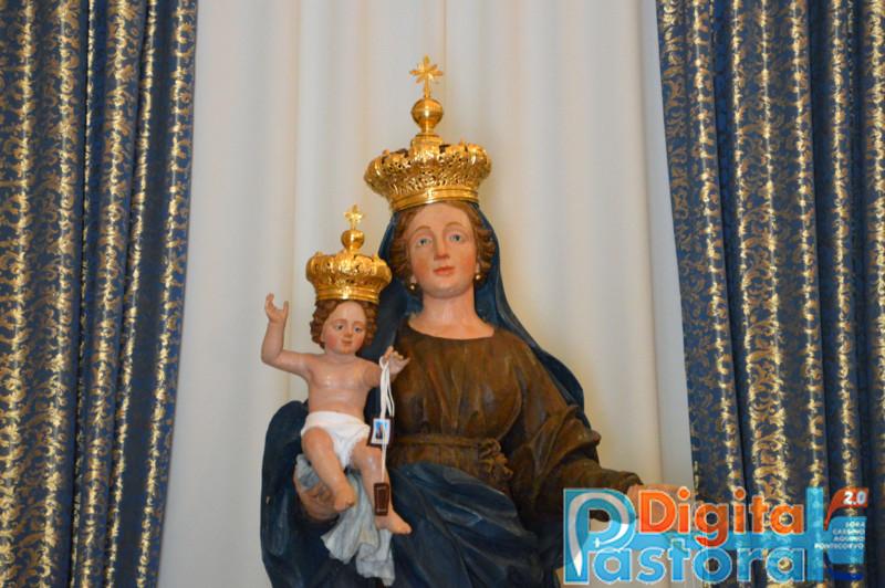 Piccolo Ufficio Della Madonna : Rosanisco inizio della novena e incoronazione della madonna del