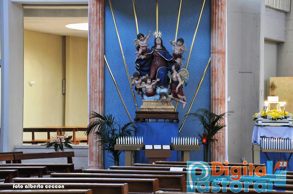 7. La venerata statua di Maria SS.ma Assunta