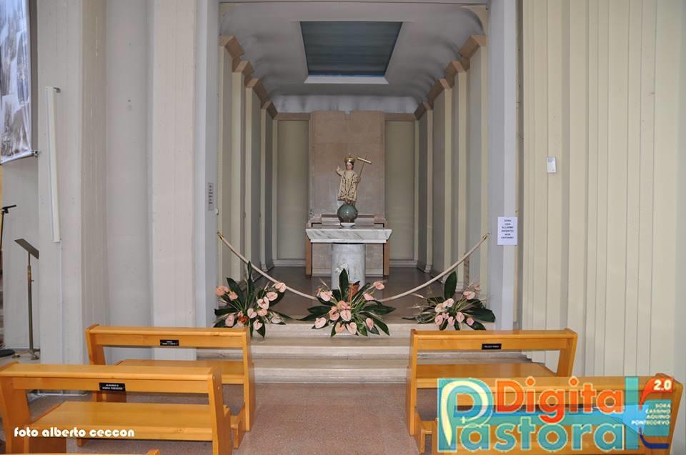 8. La cappellina di destra, della Madonna Assunta (momentaneamente esposta) e di Gesù Bambino