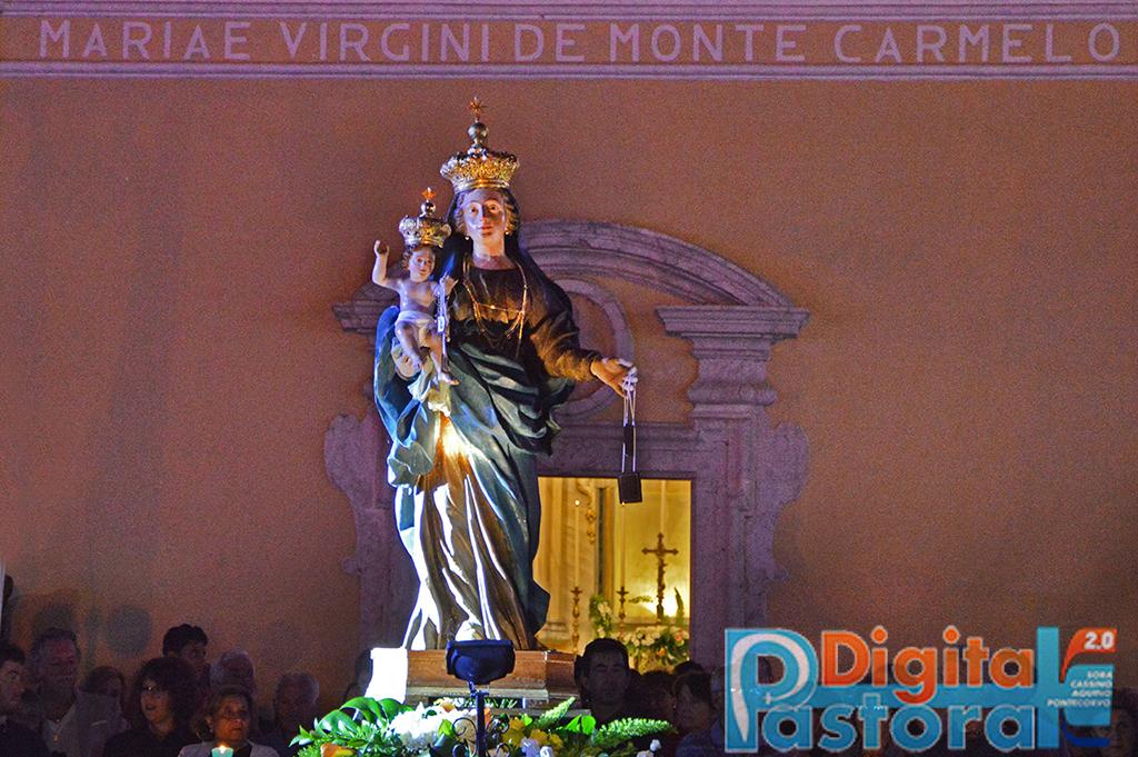 Piccolo Ufficio Della Madonna : Festeggiamenti in onore della madonna del carmine a rosanisco