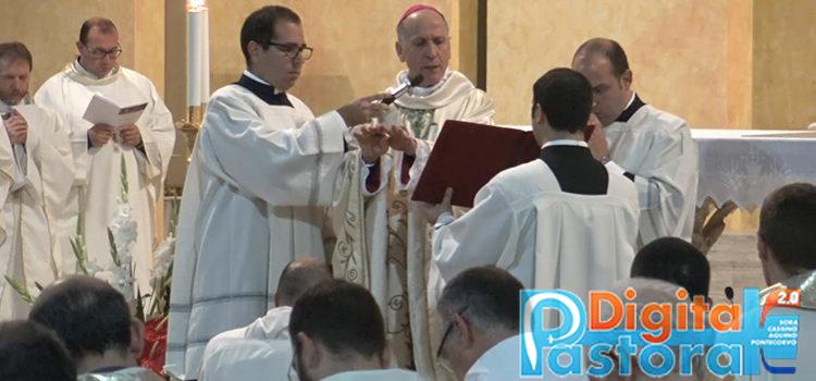 Evidenza ordinazione diaconale Marcello Di Camillo