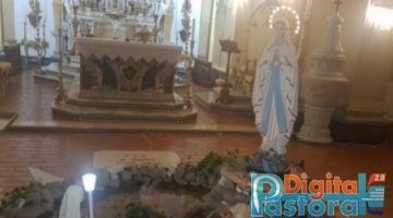 madonna di Lourdes Cassino