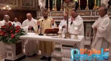 don giovanni e don ercole 10 anni ordinazione chiesa di Santo Spirito a Sora