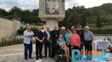 Benedizione statua San Pio 2