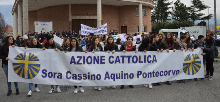 Lo striscone dell'Azione Cattolica