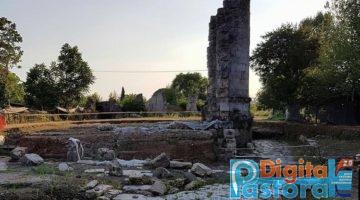 A ovest di Aquino l'Aqvinvm imperiale tre volte più grande di Pompei