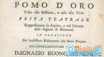 Arpino e lo spettacolo teatrale Tra seicento e ottocento