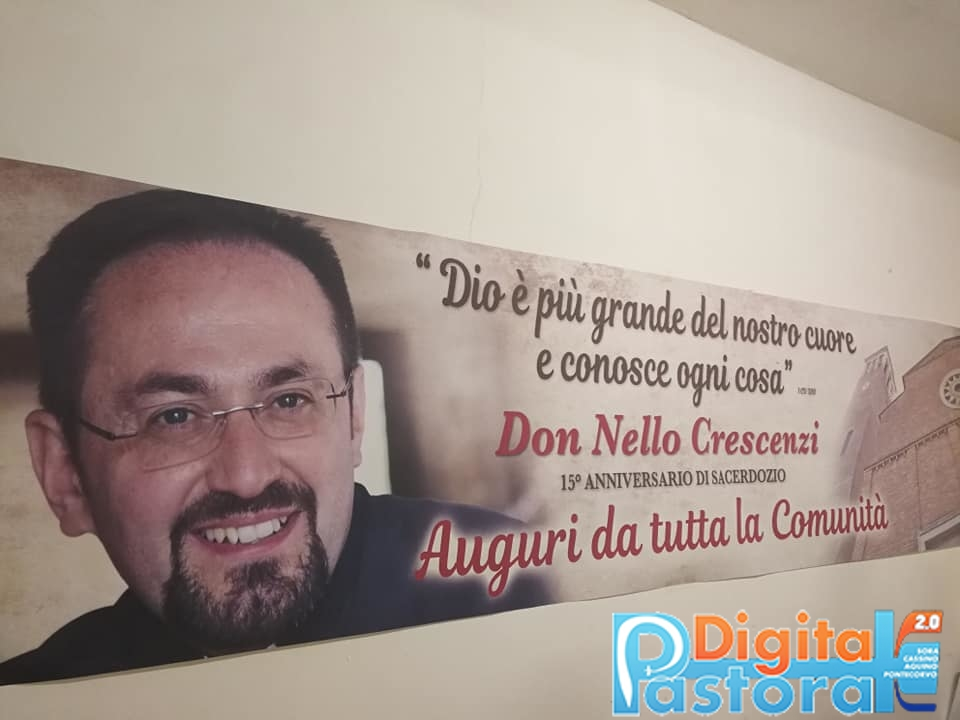 Don Nello Festeggia 15 Anni Di Sacerdozio Diocesi Sora