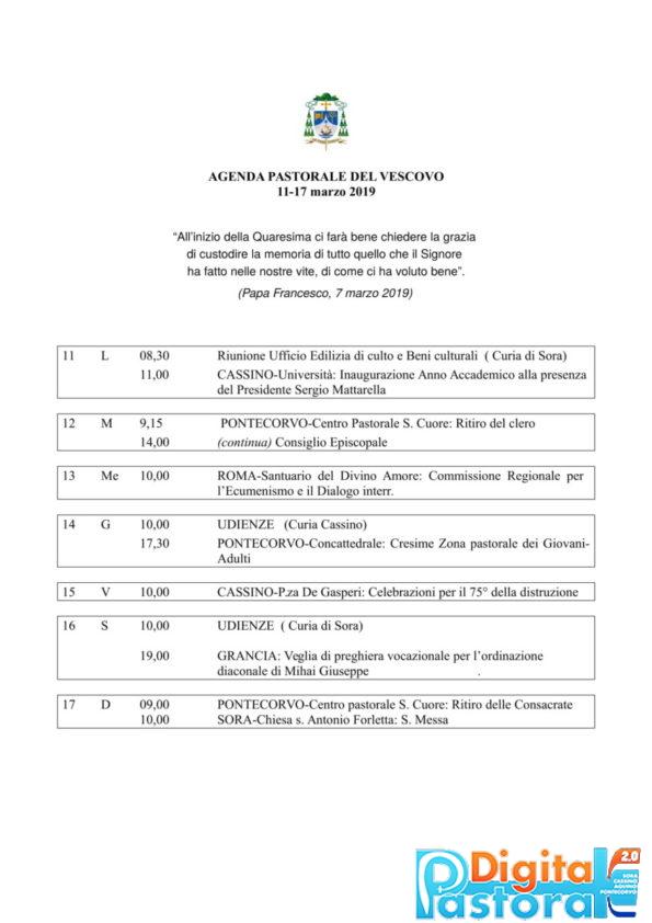 Agenda 11-17 marzo 2019-1