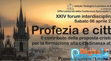 XXIV Forum Interdisciplinare Pontifcio Collegio Leoniano di Anagni