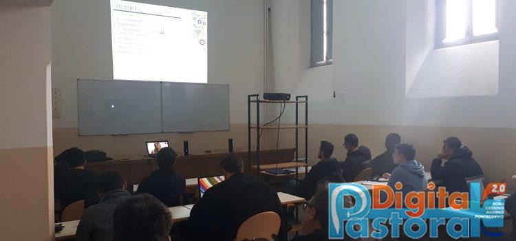 Pastorale Digitale Pontificio Collegio Leoniano Anagni Alessandra Carenzio