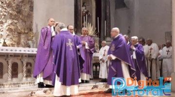 Pastorale Digitale Rito delle Sacre Ceneri Cattedrale di Sora Mons Gerardo Antonazzo