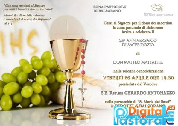 Pastorale-Digitale-25 anni-sacerdozio-Don Matteo-Ridotti